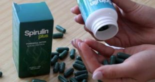 Spirulin plus pills