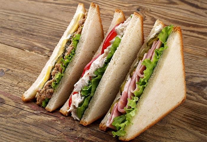 muscle gain sandwiches