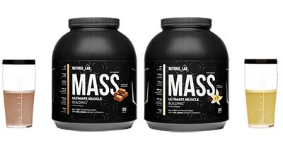nutrigo lab mass chocolate and vanilla