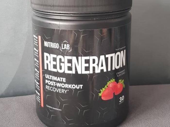 nutrigo lab regeneration post workout recovery