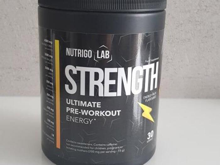 nutrigo lab strenght works