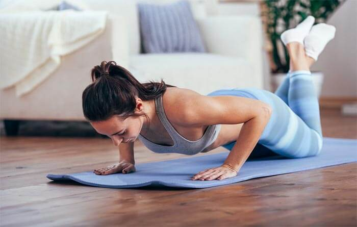 pushup traning for women