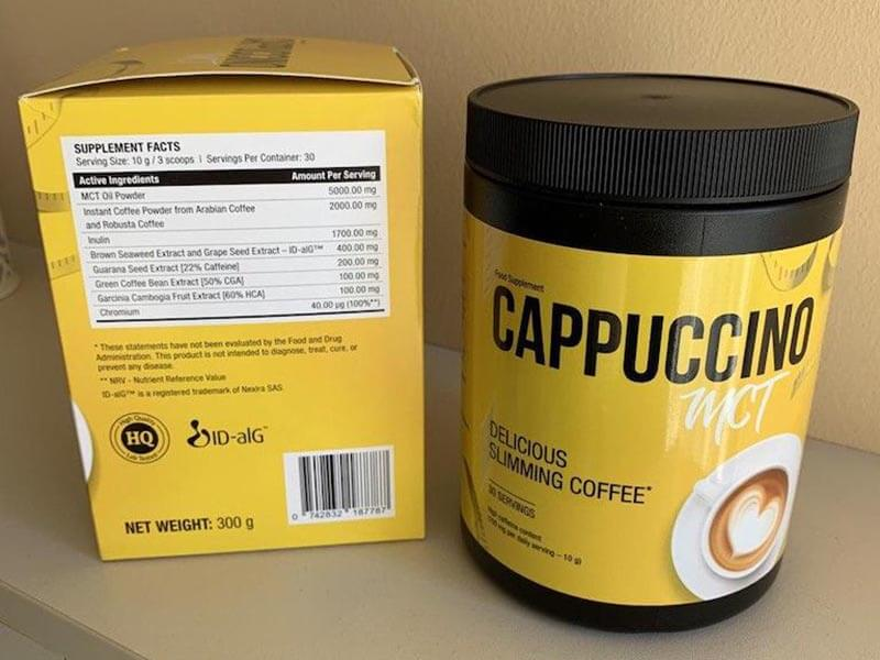 What is the cost of Cappuccino MCT?